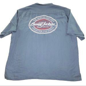 Barrett Jackson Car Auction Button Up Shirt 3XL